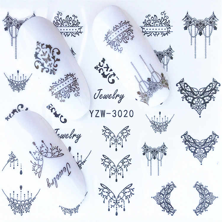 1 Pcs Fashion Bohemian Pola Bunga Sticker Dotting Pena Picker Lilin Pensil Acrylic Nail Art Alat Manikur Dekorasi Lilin Pensil
