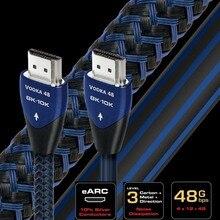 Câble vidéo audio quest Ultra HD, 48Gbps, 5.0 Original, pour TV, 8K, 48Gbps, compatible avec la VODKA HDMI