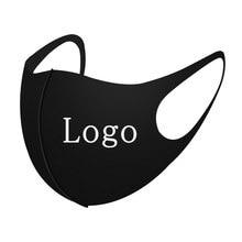 4 cores máscara logotipo personalizar máscaras impressas máscaras verão lavável fresco máscaras de seda poeira boca capa cubre-bocas mascarillas