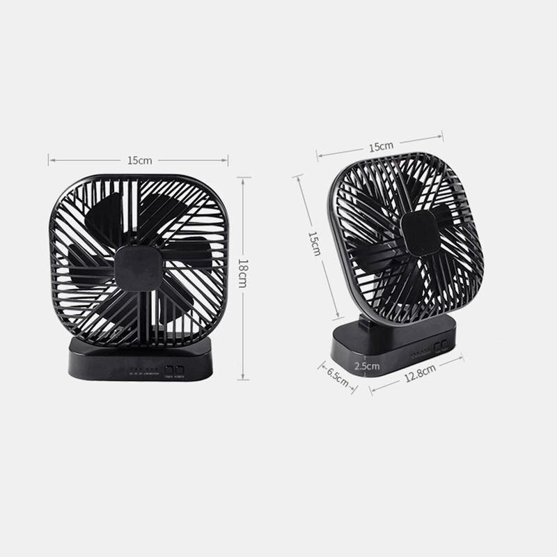 Usb ventilador magnético usb ou aa bateria