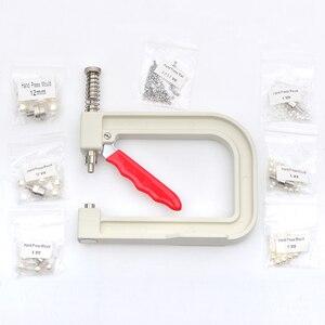 Image 3 - JUNAO 4 5 6 8 10mm לבן פנינת חרוזים פרל הגדרת מכונת ריינסטון יד עיתונות כלים מסמרת מכונת עבור מלאכות תפירת ספקי