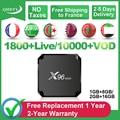 QHDTV IPTV Франция арабский IPTV подписка 1 год X96 Мини Android S905W Испания IPTV французский арабский Бельгия Германия Алжир IP TV