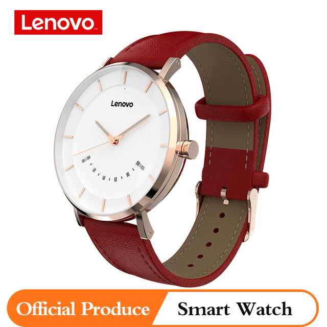 Lenovo Original Watch S Smart Watch Quartz Watches Intelligent Reminder 50M Waterproof Long Battery Life Sports Smartwatch