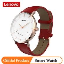 Lenovo oryginalny zegarek S inteligentny zegarek zegarki kwarcowe inteligentne przypomnienie 50M wodoodporny długi czas pracy na baterii sport Smartwatch