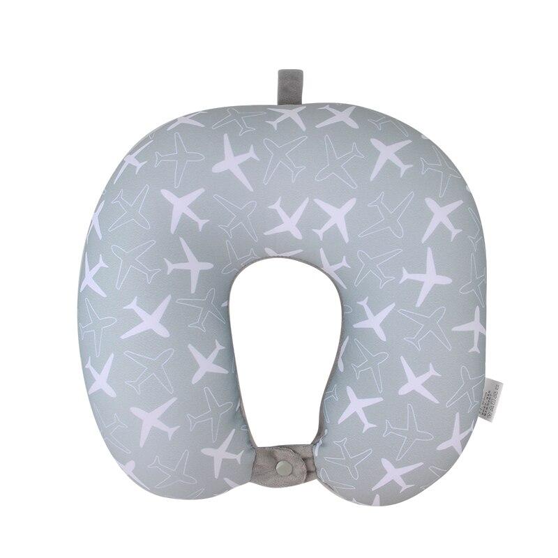 Bohemia Beach U Pillow Nanoparticles Neck Support Headrest Health Care Cushion Airplane Flight Foam Particles Pillow For Travel