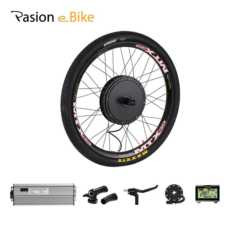 Pasion E BIKE Conversion Kit 48V 1500W Cassette Electric Bike Motor Wheel Bicycle Hub