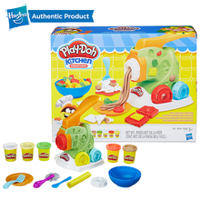 Hasbro Play-Doh Colorful Pasta Machine Set Plasticine Play Doh Clay Educational Toys Light Soft Modeling DIY Toy