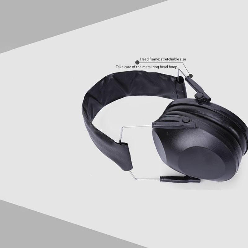 Military Earmuff Headphone Protective Tactical Soundproof Shooting Earphone Noise Reduction Safety Anti-noise Shooting Headphone