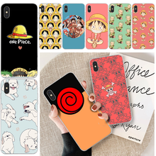 Two-dimensional One Piece Naruto Phone Case Cover For iphone 6 6s plus 7 8 plus X XS XR XS MAX 11 11 pro 11 Pro Max Cover lovebay geometri customer high quality phone case for iphone 6 6s plus 7 8 plus x xs xr xs max 11 11 pro 11 pro max cover