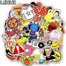 600 PCS Mixed Random Stickers Anime Graffiti JDM Sticker DIY Laptop Skateboard Luggage Bumper Notebook Cellphone Helmet Stickers