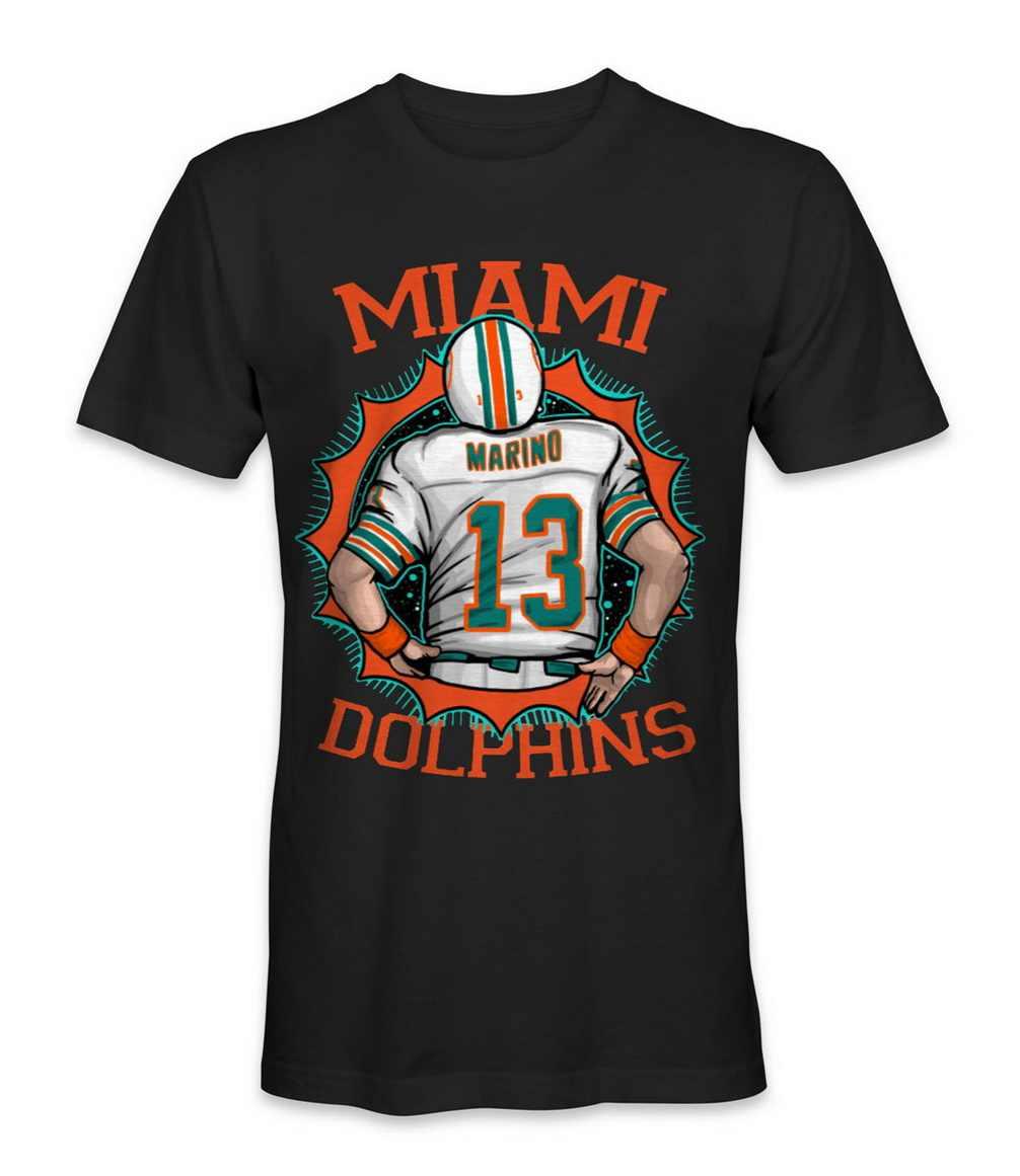 Miami Delphin Fußball Team Tops T T Shirt Bodybuilding Tops T-Shirt Für Männer Frauen T-shirt S-5XL Größe 11 Farben