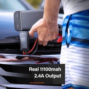 Оригинальный пусковой стартер 70mai, реальная мощность 11000 мА · ч для транспортного средства 3.0L 600A Max, светодиодный индикатор для SOS и освещения 2.4A, выход для мобильных телефонов