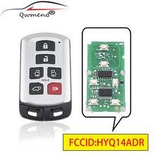 QWMEND HYQ14ADR 89904 08010 Auto Remote Key für Toyota Sienna 2011 2020 Smart Auto Schlüssel 314,3 mhz 6 tasten