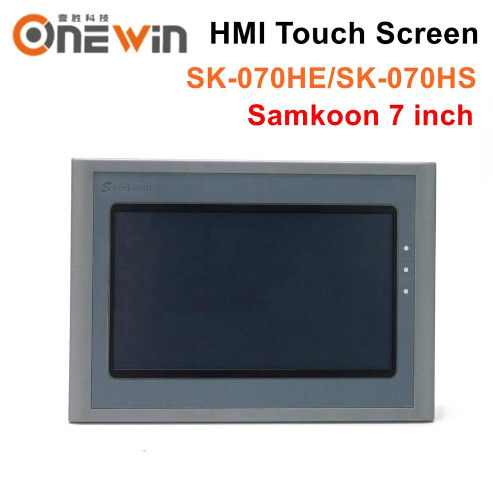 Samkoon  SK-070HE SK-070HS HMI Touch Screen New 7 Inch Human Machine Interface