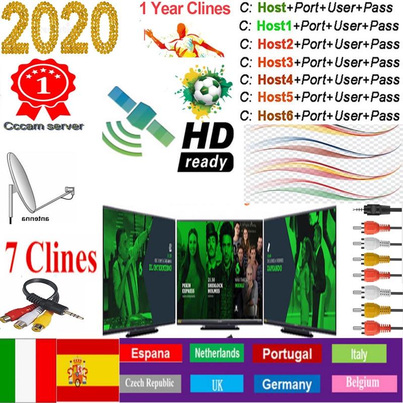 Cccam Europa сервер Испания Cccam HD 7cline на 1 год Европа Испания Португалия Польша стабильный рецептор satelite