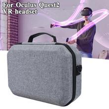 Новинка, портативные аксессуары виртуальной реальности для Oculus Quest 2, Дорожный Чехол для переноски гарнитуры виртуальной реальности, коробк...
