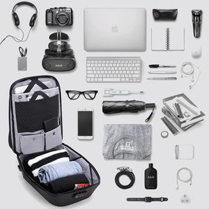 Image 4 - Arctique HUNTER école 15.6 sac à dos pour ordinateur portable hommes imperméable Mochila décontracté voyage affaires USB sac à dos mâle sac Anti vol cadeau