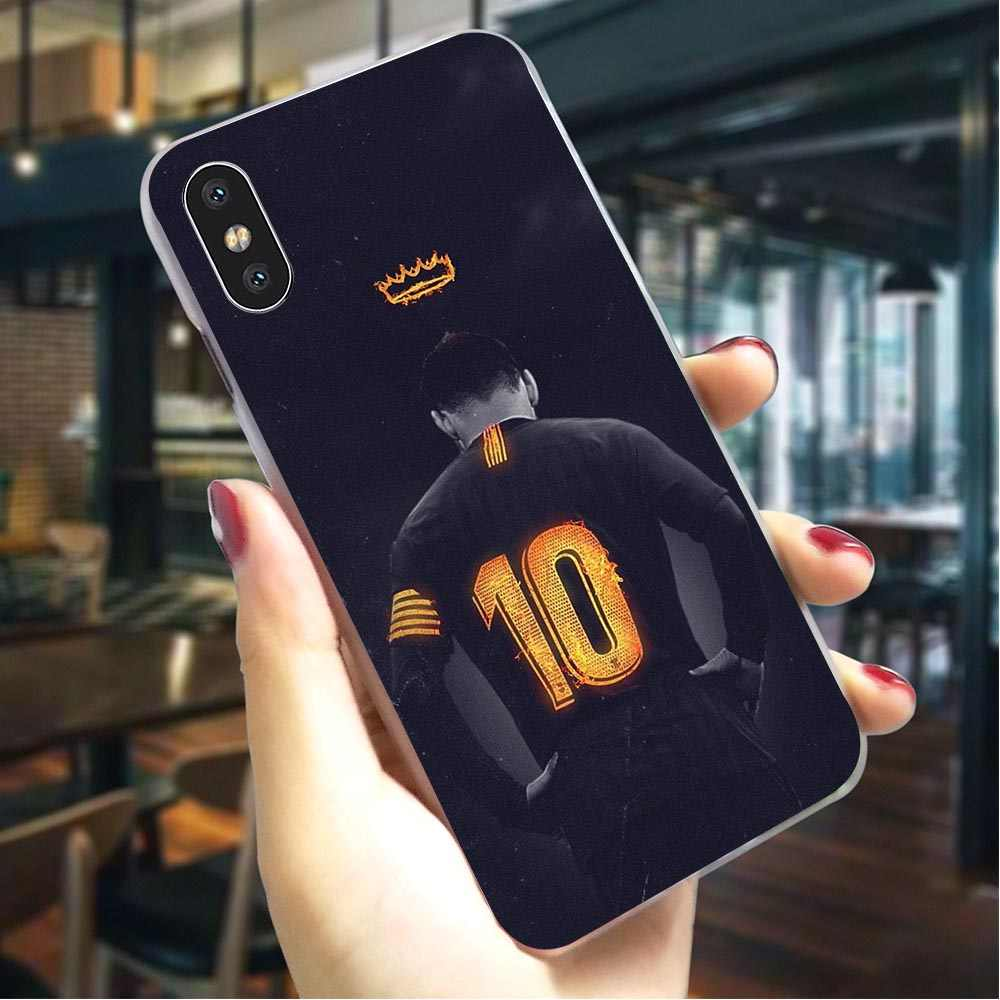 Fashion Sepak Bola Sepak Bola Hidup untuk iPhone 8 Cover 5 5S SE 6 6 S/6 6S Plus 7/7 8 Plus X XS XR X Max Hard Cover