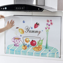 Yummy Fruit Cake Kitchen Stickers Wall Decals Cabinet Stove Waterproof  Sticker Home Decoration Mural Multifunctional Wallpaper