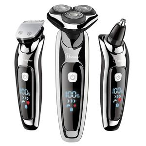 Image 1 - HATTEKER 2019 new arrival electric shaver facial electric razor for men grooming kit usb rechargeable male beard shaving machine