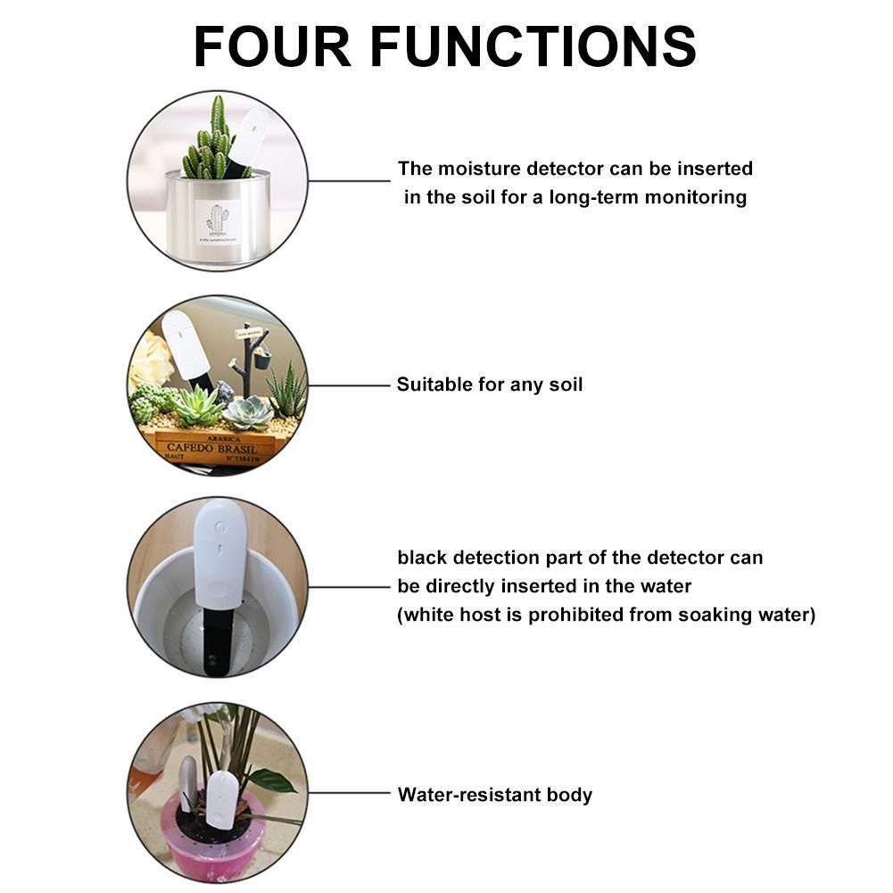 Освежитель растений светодиодный индикатор датчик влажности