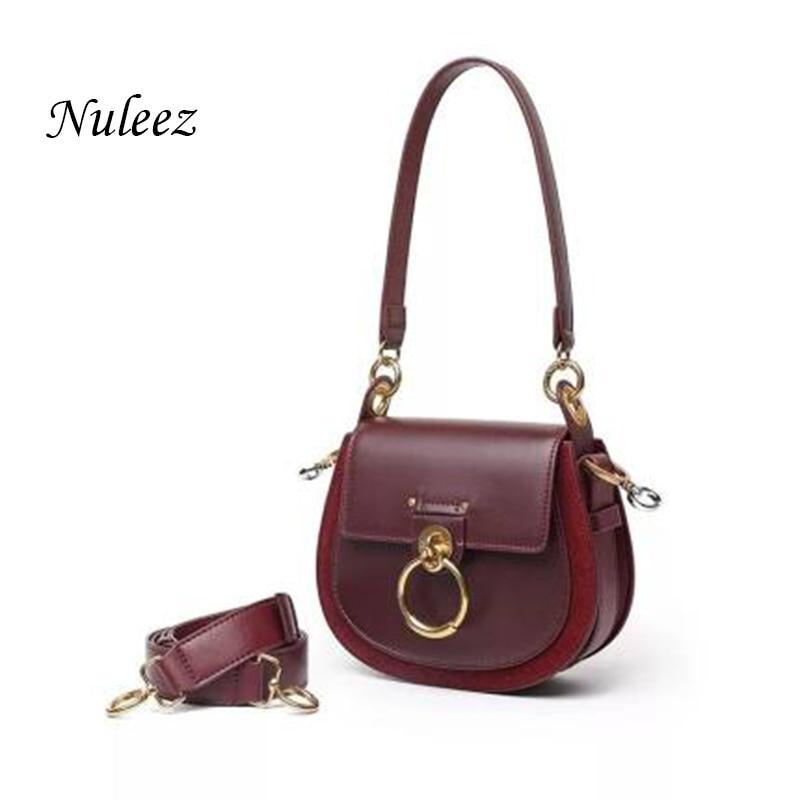 Nuleez Fashion Bag Women Pig Bag Circle C Famous Stars Favorite Bag Cross-body And Tote-bag Highest Quality