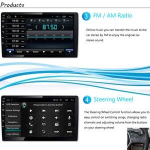 Image 4 - רכב רדיו אנדרואיד מולטימדיה נגן לפיג ו 508 2011 ~ 2016 רכב מסך מגע GPS ניווט תמיכה Carplay Bluetooth