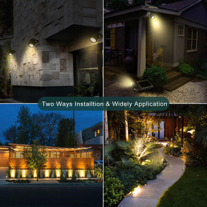 Image 5 - 3 in 1 Outdoor LED Solar Light IP66 Waterproof Solar Powered LED Lamp Outdoor Flood Light For Garden Patio Landscape Lawn