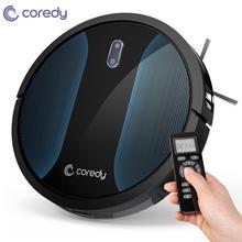 Coredy R500+ Odkurzacz Automatyczny Robot Sprzątający dywan na podłogę Sweep inteligentny sierść zwierząt mokry mop do czyszczenia Auto ładowanie do domu dezynfekcji Mądry Dust Cleaner wodny Odkurzacze mopy do podłogi