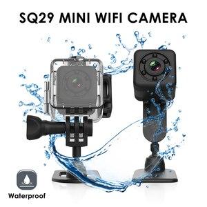 Image 5 - Camera Thể Thao SQ29 Mini Camera IP Quan Sát Ban Đêm Mini Chống Nước Chuyển Động Đầu Ghi Hình Micro Camera Thể Thao DV W/Chống Nước Vỏ VS SQ11