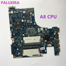 PALUBEIRA Laptop Motherboard For Lenovo G51-35 Motherboard A8-7410 BMWQ3/BMWQ4 NM-A401 WITH A8 DDR3 Fully Tested