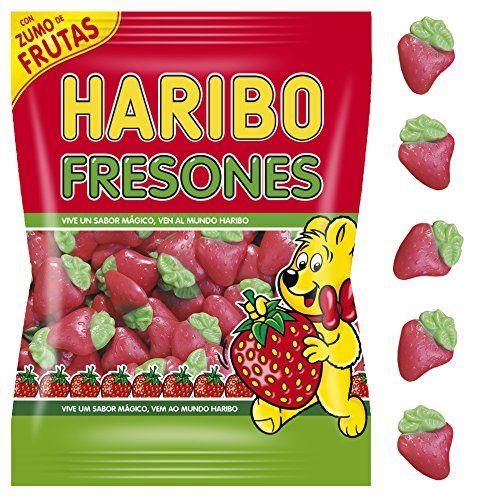 Haribo - Gominolas Haribo Fresones Bolsa 100 G