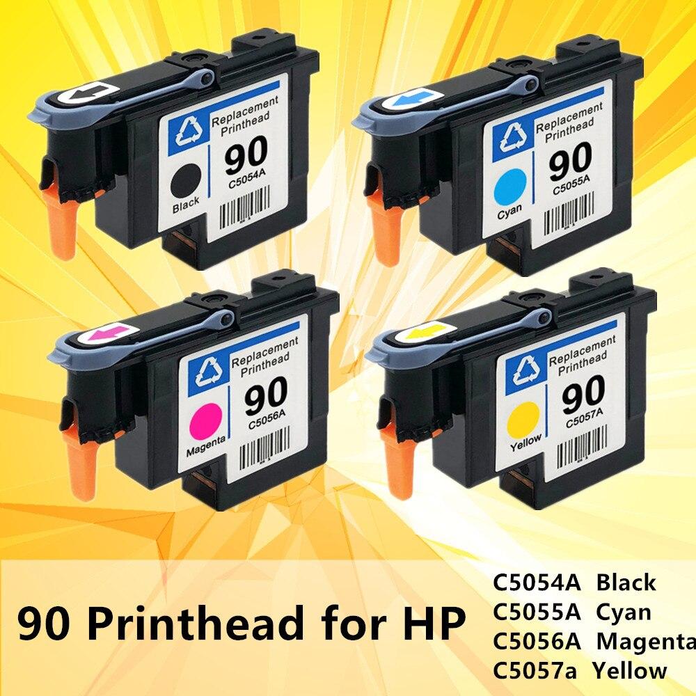90 HP90 C5054A C5055A C5056A C5057A Printhead Replacement For HP 90 Print Head HP DesignJet 4000 4000ps 4020 4500 4520 Printer