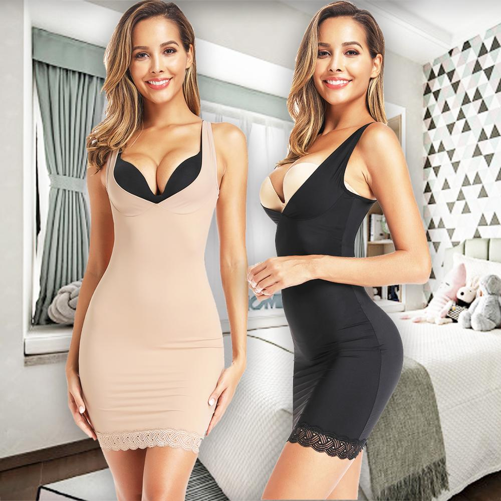 Womens Bodysuit Newest Slimming Body Shaper Black Shapewear Control Waist Cincher Body Shaping Dress