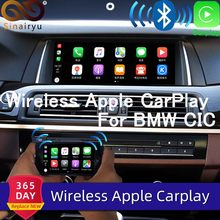 Sinairyu WIFI inalámbrico de Apple Carplay para BMW CIC 6,5 de 8,8 de 10,25 pulgadas 1 3 5 5 5 6 6 7 Serie X1 X3 X5 X6 2009-2013 Android Auto jugar(China)