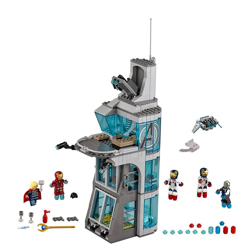 Image 3 - 2019 New SuperHeroes Ironman Marvel Avenger Tower Fit Compatible with Legoinglys Avengers Gift Building Block Bricks Boy Kid Toy-in Blocks from Toys & Hobbies