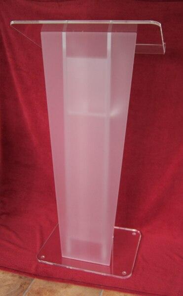 Clear Acrylic Frosted Glass Plate Platform Plexiglass
