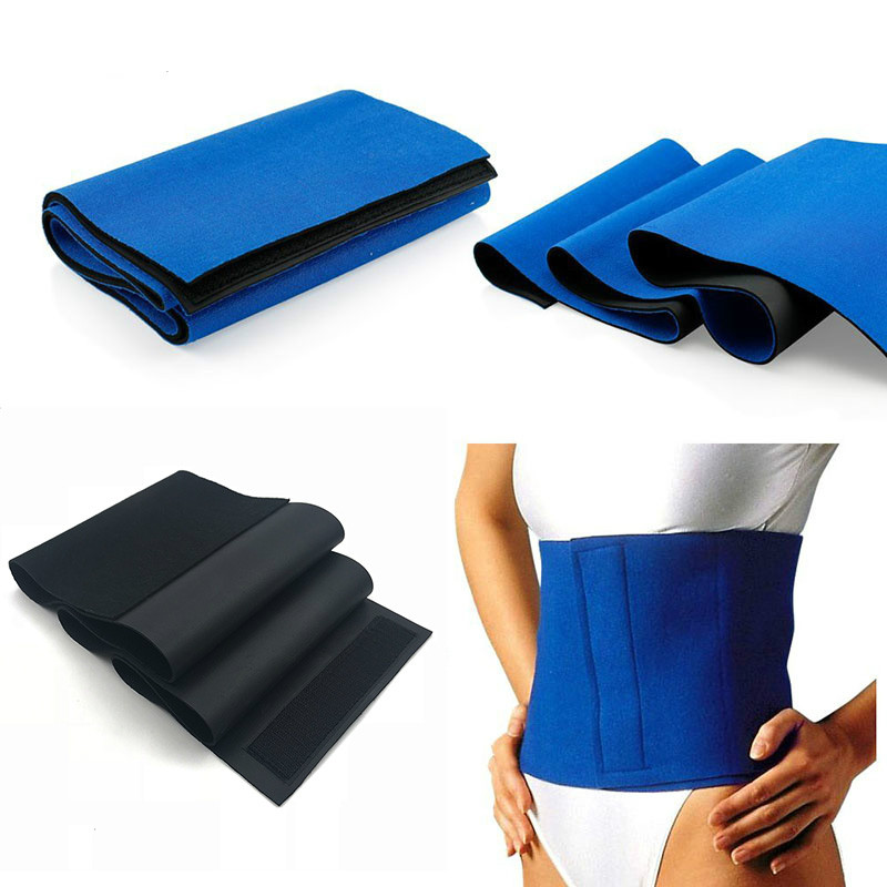 Neoprene Waist Trimmer Sweat Fat Cellulite Burner Body Leg Slimming Shaper Exercise Wrap Belt Body Belly Slimming Girdle Belt Slimming Product  - AliExpress