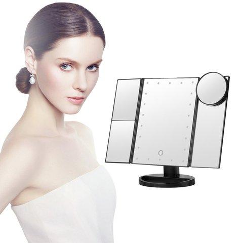desktop com dupla rotacao livre espelho portatil duravel