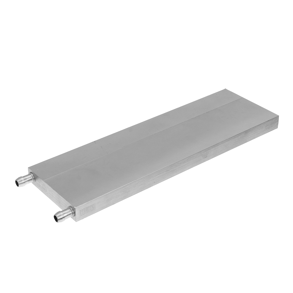 80x250x15mm Aluminum Water Cooling Block For CPU Semiconductor Cooling Radiator Heatsink