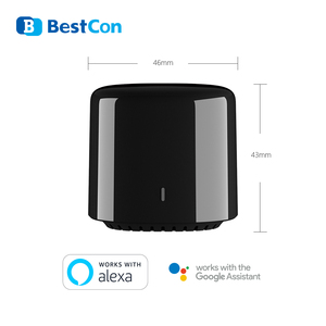 Image 5 - الاحدث برودلينك 2020 Bestcon RM4C mini Universal 4G Wifi IR جهاز تحكم عن بعد صغير متوافق اليكسا جوجل مساعد للتيار المتردد