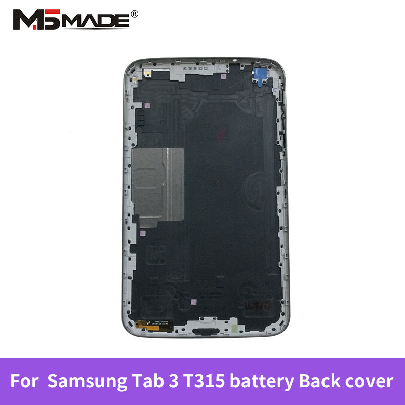 For <font><b>Samsung</b></font> Galaxy Tab 3 8.0 <font><b>T311</b></font> T315 SM-<font><b>T311</b></font> SM-T315 back Battery housing cover case battery door cover image