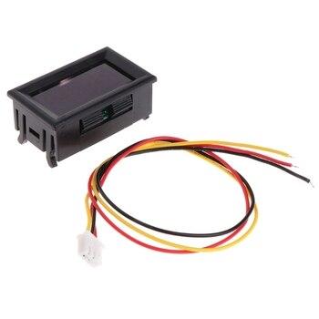 2 in 1 LED Tachometer Gauge Digital RPM Voltmeter for Auto Motor Rotating Speed hot sale 4 digital green led tachometer rpm speed meter proximity switch sensor 12v