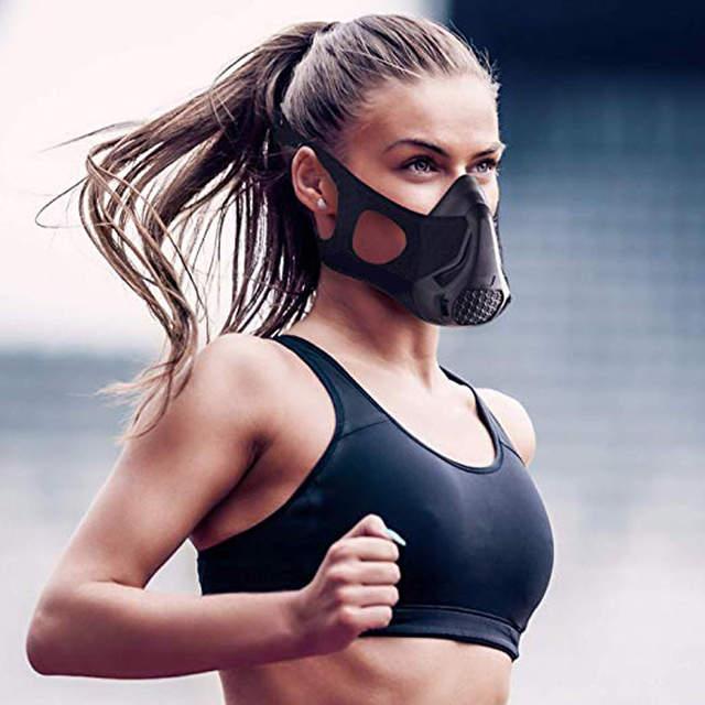 Mascara deportiva de alto rendimiento perfecta para todos los tipos de atletas, hombres y mujeres. Mejorando su capacidad de recuperación y salud cardio vascular.