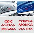 Автомобильный светильник, стикер для бровей, Стайлинг, лампа для украшения бровей, наклейка для Opel OPC Astra Insignia Corsa Mokka Vectra, аксессуары