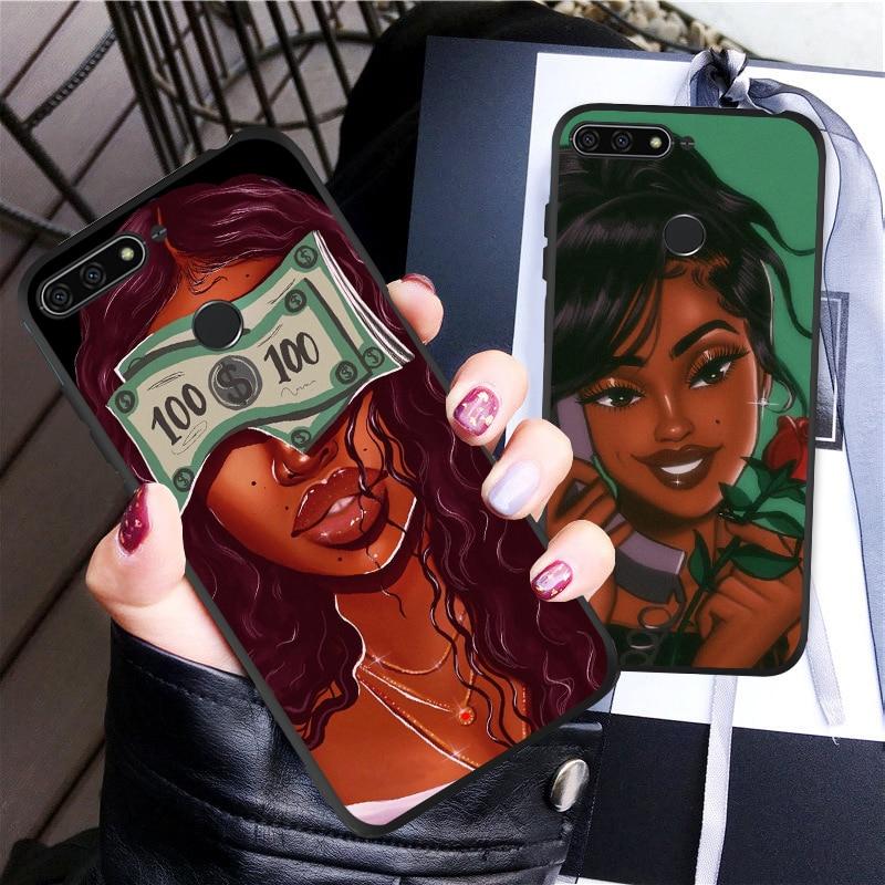 Fashion Women Soft Silicone Cover Coque For Huawei Honor 8S Case 8X 9X 9 10 Lite V20 20I 20 Pro Mate 10 20 Lite 30 Pro Case