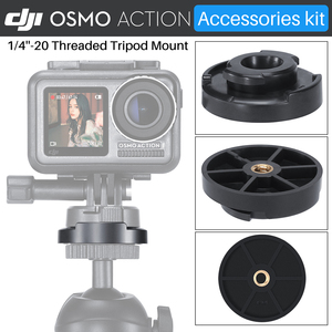 Image 3 - ULANZI Quick Release Base Mount W 3M Adhesive Tape Sticker Adapter For Gopro Hero 7/6/5 DJI Osmo Action Camera Accessories Kit