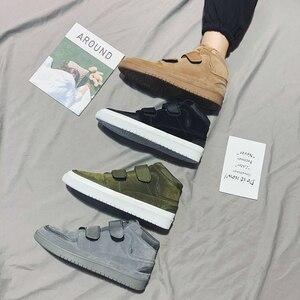 Image 5 - ฤดูใบไม้ร่วงผู้ชายรองเท้าสบายๆ Zapatos De Hombre แฟชั่น Tenis Masculino เดินรองเท้า High Tops รองเท้าผ้าใบรองเท้ารองเท้า Krasovki