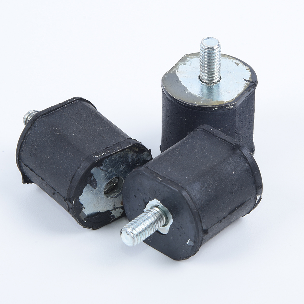 3pcs AV Annular Buffer For Stihl 020T MS200 MS200T Chainsaw 1116 790 9600 Screw Durable And Long Service Life
