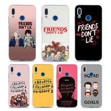 Silicone Soft Phone Cases for Huawei P30 P20 Lite Pro P10 P9 2017 Honor 9 10 20 Cover Should stay should Stranger